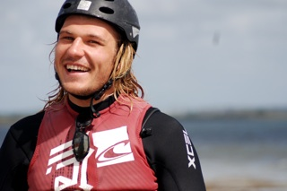 casey kitesurf instructor just passed kiteboarding instructor course
